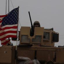 D. Trumpas: JAV kariai bus apdairiai išvedami iš Sirijos
