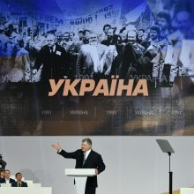 P. Porošenka sieks būti perrinktas Ukrainos prezidentu