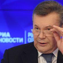 Rusijos teritorijoje V. Janukovyčiui suteikta valstybės apsauga