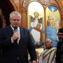 Australijos premjeras paragino G-20 kovoti su ekstremizmu internete