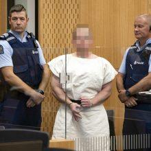 50 žmonių nužudęs Naujosios Zelandijos šaulys lankėsi Baltijos šalyse