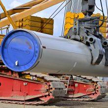 """""""Gazprom"""" pripažino: """"Nord Stream 2"""" šiemet gali nepavykti nutiesti"""