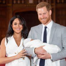 Princas Harry ir Meghan parodė savo sūnų visuomenei