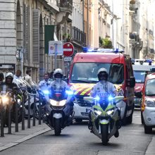 Po sprogdinimo Lione policija ieško įtariamojo