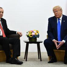 R. T. Erdoganas nebeseka D. Trumpo tviterio žinučių