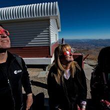 Pietų Amerika grožėjosi visišku Saulės užtemimu