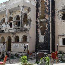 Išpuolis Somalio viešbutyje: žuvo mažiausiai 26 žmonės