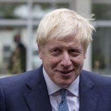 """B. Johnsonas: ES nerodo noro ieškoti kompromisų dėl """"Brexit"""""""