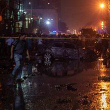 Egipte per automobilių susidūrimo sukeltą gaisrą ligoninėje žuvo 19 žmonių