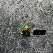 Indija Mėnulio paviršiuje aptiko dingusį zondą