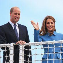 Britų princas Williamas su žmona lankysis Pakistane