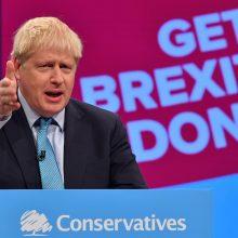 """JK ir ES turi per savaitę paruošti """"Brexit"""" sutarties projektą"""