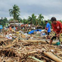 Taifūnas Filipinuose pražudė mažiausiai 11 žmonių