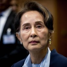 Nobelio taikos premijos laureatė kratosi genocido šešėlio