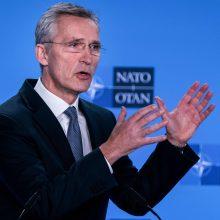 J. Stoltenbergas: NATO stiprins priešraketinę gynybą
