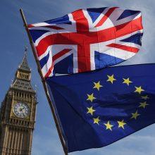 """Prekybos po """"Brexit"""" susitarimo pasiekti nepavyksta"""