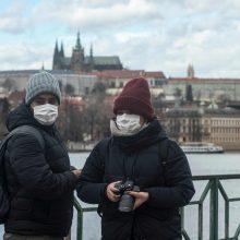 Čekija ir Ukraina dėl koronaviruso uždaro savo sienas