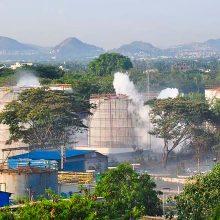 Indijoje po dujų nuotėkio chemijos įmonėje žuvo mažiausiai 11 žmonių