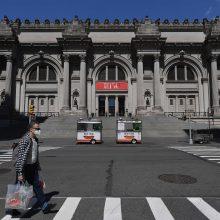 Po kelių mėnesių karantino bus atidaryti Niujorko muziejai