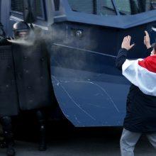 Daugiau kaip 100 tūkst. baltarusių eitynėse reikalavo A. Lukašenkos pasitraukimo
