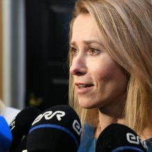 Estijos vyriausybei pirmą kartą vadovaus moteris