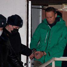 Maskvos teismas atidėjo A. Navalnui iškeltos bylos nagrinėjimą