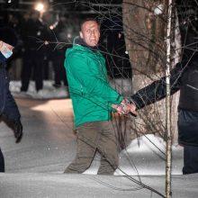 Rusija įspėja A. Navalno šalininkus neraginti dalyvauti protestuose