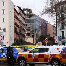 Madrido centre per galingą sprogimą žuvo mažiausiai trys žmonės