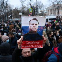 A. Navalno ir jo žmonos butuose – kratos