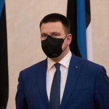 Estijos parlamento pirmininku išrinktas buvęs premjeras J. Ratas
