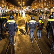 Po trijų dienų riaušių Nyderlanduose – ramu