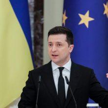 Ukraina įvedė sankcijas 23 rusų pareigūnams ir trims prancūzų europarlamentarams