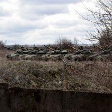 JAV: Rusija prie Ukrainos sienos sutelkė didesnes pajėgas nei 2014-aisiais
