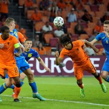 Europos futbolo čempionatas: Nyderlandai palaužė Ukrainą