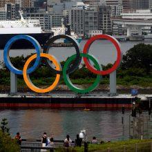 Į pabaigą artėjant olimpiadai Tokijo link slenka atogrąžų audra
