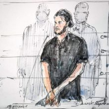2015-ųjų lapkričio atakų Paryžiuje užpuolikas stojo prieš istorinį teismą