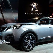 """Net ir suplėšytas bilietas atnešė """"Peugeot 5008"""""""