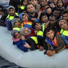Lamanšo sąsiauryje išgelbėta daugiau kaip 40 migrantų