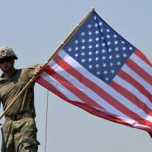 D. Trumpas aptars su M. Pence ir M. Pompeo JAV kariškių išvedimą iš Afganistano
