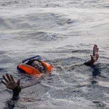 Prie Tuniso krantų nuskendus laivui su migrantais žuvo per 50 žmonių