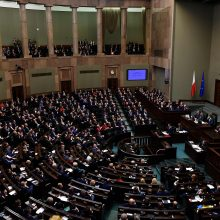 ES ėmėsi veiksmų prieš Lenkiją dėl prieštaringų teismų reformų