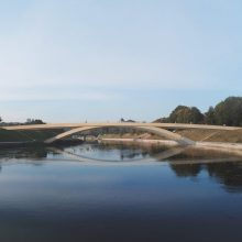 Pritarta naujo pėsčiųjų tilto projektui Vilniuje