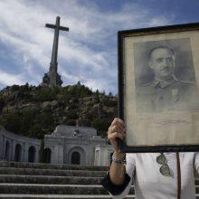 Paaiškėjo, kada bus ekshumuoti Ispanijos diktatoriaus F. Franco palaikai