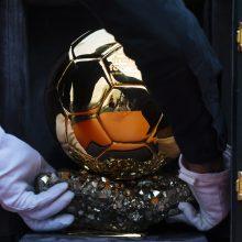 """""""Auksinio kamuolio"""" apdovanojimas šiemet nebus įteiktas"""
