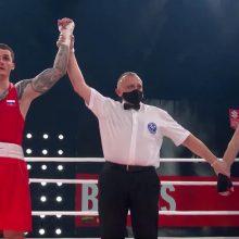 Lietuvos boksininkas pralaimėjo pasaulio bokso čempionui