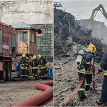 Alytaus gaisras: ministerija gavo ugniagesių sveikatos tyrimų rezultatus