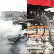 Priešgaisrinės apsaugos ir gelbėjimo departamentas pratęsė tyrimą dėl gaisro Alytuje