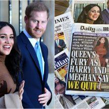 """""""Megxito"""" sviedinys išmušė """"Brexitą"""" ir Iraną iš laikraščių antraščių"""