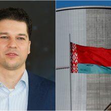 D. Virbickas: Lietuva apsunkino Astravo AE komercinę sėkmę