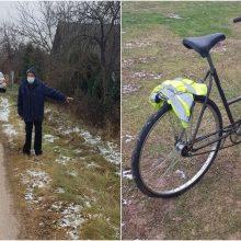 Ieško eismo įvykio liudininkų: Vilniaus rajone partrenktas dviratininkas